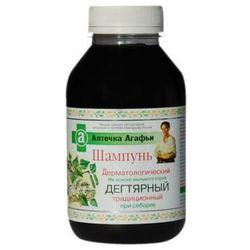 Apteczka Agafii - szampon dermatologiczny DZIEGCIOWY TRADYCYJNY przy łojotoku