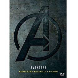 AVENGERS PAKIET 1-4 (4DVD) (Płyta DVD)