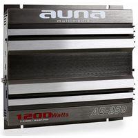 Wzmacniacze samochodowe, Auna AB-250 2-kanałowy wzmacniacz samochodowy 2 x 90W RMS, 1200W max.