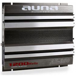 Auna AB-250 2-kanałowy wzmacniacz samochodowy 2 x 90W RMS, 1200W max.