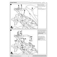 Stelaże motocyklowe, SW-MOTECH KFT.05.440.20000/B STELAŻ BOCZNY SUZUKI V-STORM 1000
