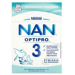 NESTLE NAN OPTIPRO 3 800g (2x400g) Mleko następne w proszku dla dzieci od 1 roku, karton