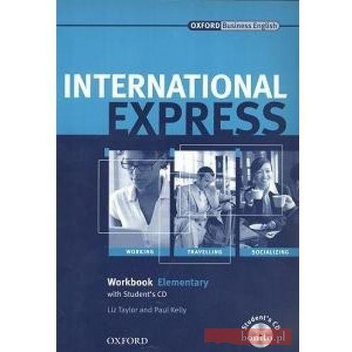 Książki do nauki języka, International Express 1 Elementary Workbook+Cd (opr. miękka)
