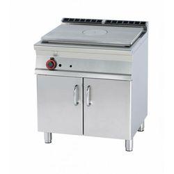 Kuchnia żeliwna gazowa z szafką | 770x570mm | 12000W | 800x700x(H)900mm