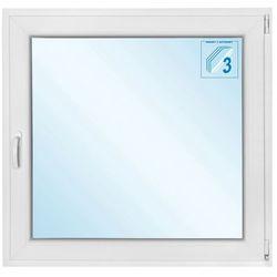 Okno PCV rozwierno - uchylne 1165 x 1135 mm białe prawe