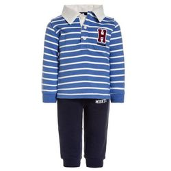 Carter's BOY TINY BUT MIGHTY JOGGER STRIPE POLO BABY SET Sweter blue