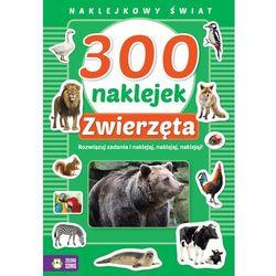 300 naklejek Zwierzęta Naklejkowy świat