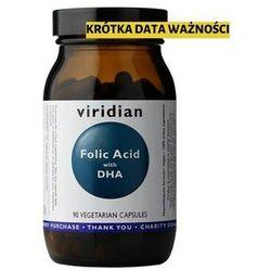 Ekologiczny kwas foliowy Organic folid acid 90 kapsułek Viridian