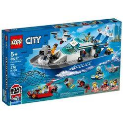 Lego City: Policyjna łódź patrolowa (60277). Wiek: 5+