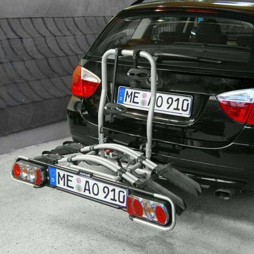 Bagażniki rowerowe do samochodu, Bagażnik na rowery platforma JAKE EUFAB na 2+1 rowery
