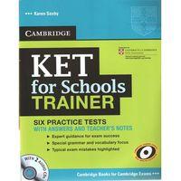 Książki do nauki języka, KET for Schools Trainer Practice Tests with Answers & Audio CDs (2) (lp) (opr. miękka)
