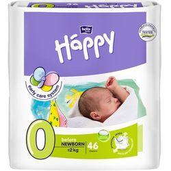 Bella Happy Pieluszki Before 0 Newborn 46 szt