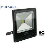 Naświetlacze zewnętrzne, Halogen Reflektor Naświetlacz Lampa 50W PULSARI LED SLIM