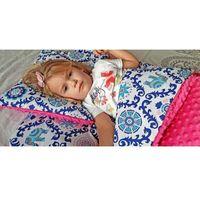 Śpiworki dziecięce, Śpiworek przedszkolaka india róż + worek