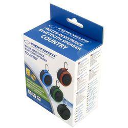 Głośnik Bluetooth COUNTRY czarno-niebieski