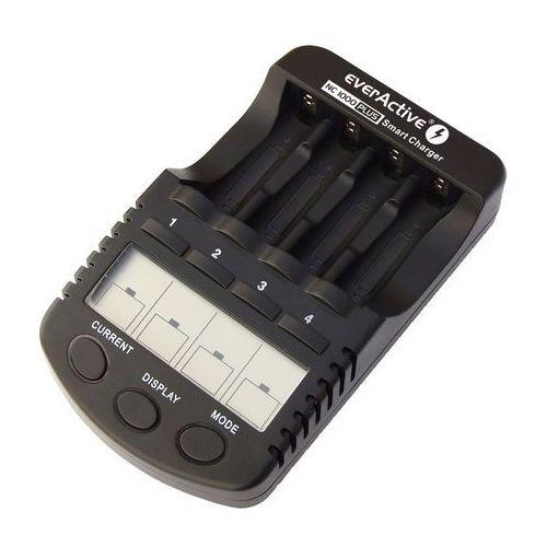 Pozostałe zasilanie do aparatów, Ładowarka everActive NC-1000 PLUS + akumulatory R6/AA Fujitsu 2550mAh
