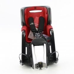 Fotelik rowerowy ROMER JOCKEY 3 COMFORT BRITAX- kolor wyściółki czerwono-granatowy 2021