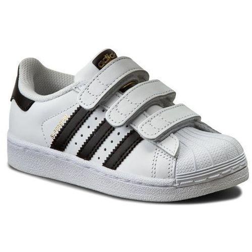 Buty sportowe dla dzieci, Buty adidas - Superstar Foundation CF C B26070 Ftwwht/Cblack/Ftwwht