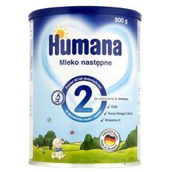 HUMANA 2 800g Mleko następne Po 6 miesiącu
