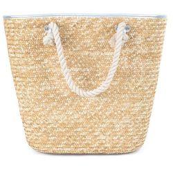 Torba damska koszyk plażowa pleciona duża słomiana marki Miss glow