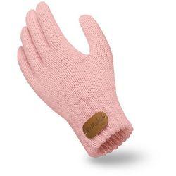 Rękawiczki dziecięce PaMaMi - Pudrowy róż - Pudrowy róż