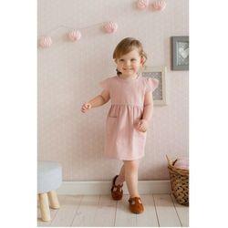 Sukienka niemowlęca różowa 6K38AF Oferta ważna tylko do 2023-05-26
