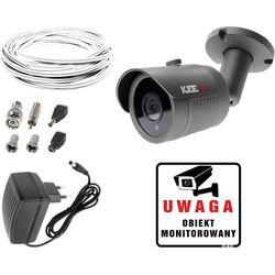 Zestaw do monitoringu domu mieszkania kamera LV-AL30HT Zasilacz Przewód akcesoria podgląd na TV