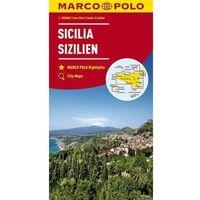Mapy i atlasy turystyczne, Mapa drogowa Marco Polo. Sycylia 1:200 000 - Praca zbiorowa (opr. broszurowa)