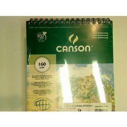 Blok rysunkowy Canson A4 biały 50 160g (6666-182)