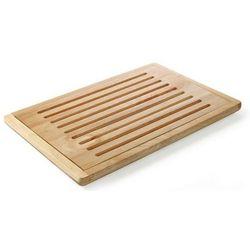 Drewniana deska do krojenia chleba z wyjmowaną kratką | 475x322mm