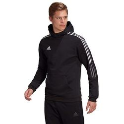 Bluza męska adidas Tiro 21 Sweat Hoody czarna GM7341