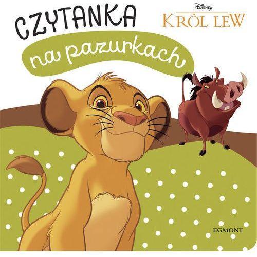 Książki dla dzieci, Król Lew Czytanka na pazurkach - Praca zbiorowa (opr. kartonowa)