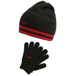 Nike Performance REVERSIBLE STRIPE SET Rękawiczki pięciopalcowe black/gym red