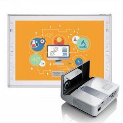 Tablica Newline TruBoard R3-800 z projektorem BenQ MX842UST i uchwytem BenQ