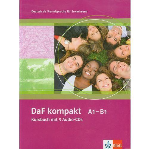 Językoznawstwo, Daf Kompakt A1-B1 Kursbuch Mit 3 Audio-Cds (opr. miękka)