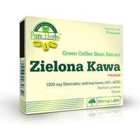 Tabletki na odchudzanie, Olimp Zielona Kawa Premium 30 kaps. 039652