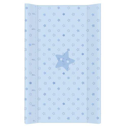 Przewijaki i maty do przewijania, MAMO-TATO Przewijak na łóżeczko usztywniony 50x70 Gwiazdki Niebieskie