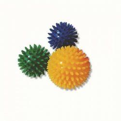 Piłka rehabilitacyjna z kolcami TGR PRJ 101 B kolor zielony - rozm. 7cm