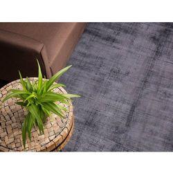 Dywan szary 80x150 cm krótkowłosy - chodnik - wiskoza - GESI