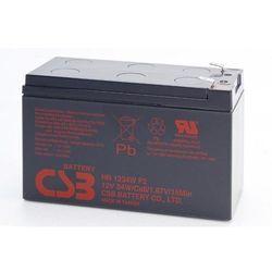 Akumulator żelowy wymienny 12V 9Ah CSB Orvaldi HR1234W F2
