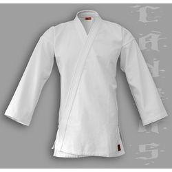 kimono do aikido TONBO - CANVAS, białe, 14oz - męskie