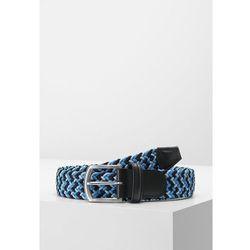 Anderson's STRETCH BELT Pasek pleciony multi blue