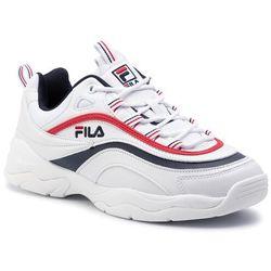 Sneakersy FILA Ray Low 1010561.150 WhiteFila NavyFila Red