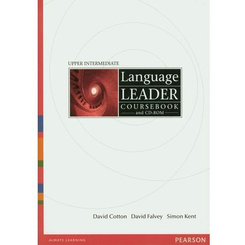 Książki do nauki języka, Language Leader Upper Intermediate Coursebook (podręcznik) plus CD-ROM (opr. broszurowa)