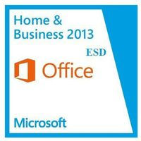 Programy biurowe, Microsoft Office Home & Business 2013 ESD 32/64-bit PL