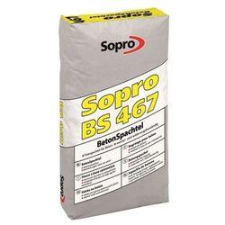 SOPRO BS 467- szpachla do betonu, 25 kg (1-5 mm)