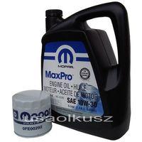 Pozostałe oleje, smary i płyny samochodowe, Filtr + olej 10W30 MOPAR Chrysler LHS