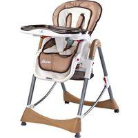Krzesełka do karmienia, Krzesełko do karmienia CARETERO Bistro beżowy + DARMOWY TRANSPORT!