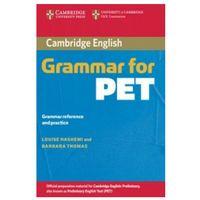 Książki do nauki języka, Cambridge Grammar for PET - Hashemi Louise, Thomas Barbara (opr. miękka)
