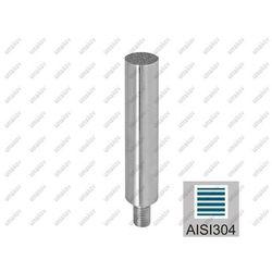 Trzpień nierdzewny M10 AISI304, K320, D12/L100mm,